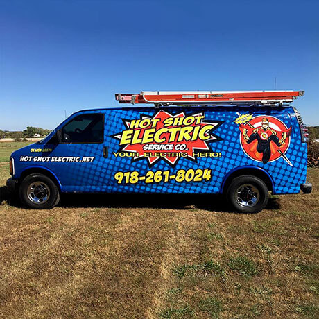 Hot Shot Electric Van