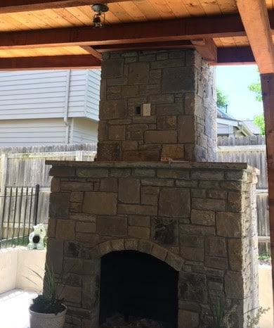 Hot Shot Electric Outdoor outlets and fireplace lighting