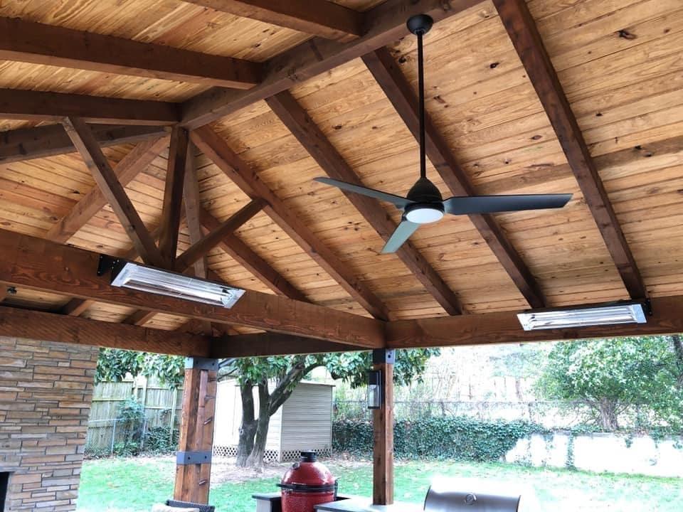 Hot Shot Electric Ceiling Fan